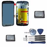 Moto G2 Tela Touch Display + 2 Alto Falante + Kit Ferramenta