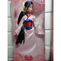Mulan Princesa Boneca Original Disney Store Articulada 30 Cm