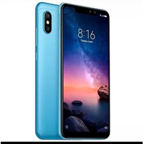 Cel Xiaomi Redmi Note 6 Pro 64g +  Capa + Fone E Película