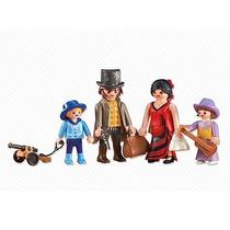 Playmobil Add On - Western Família Velho Oeste 6323 - Veja!