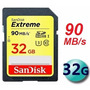 Cartão Sandisk Sdhc Extreme 90mb/s 32gb C10 Full Hd 3d U3 4k