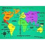 Quebra Cabeça Mapa Mundi Eva Pili Pili