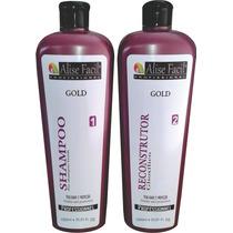 Kit Definitiva Gold S/ Formol Ácido Glioxilíco 1 L