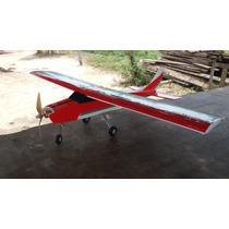 Aeromodelo Calmato Asa Alta Em Deplon + Eletrônica