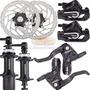 Kit Freio A Disco Shimano Alivio Hidraulico Br-m575 Completo