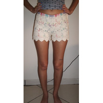 Short Costume Renda Guipir Numero 34