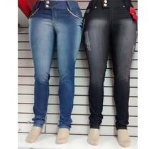 Calça Jeans Plus Size ** R$ 69,90 ** Do 46 Ao 54