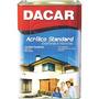 Tinta Acrílica Dacar Standard Interior E Exterior 18 L Azul