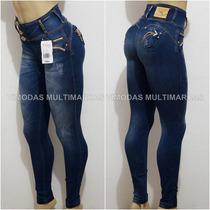 Calça Rhero Jeans Estilo Pit Bull Jeans Bojo Modela Bumbum