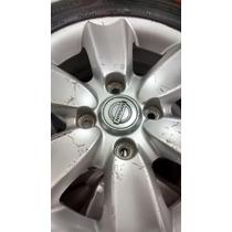 Jogo De Rodas E Pneus Nissan Sentra Aro 15