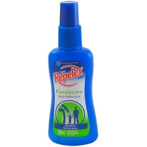 Kit 2 Repelente Repelex Family Care Spray 100ml