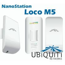 Ubiquiti Airmax Nanostation Nano Loco M5 5.8 Ghz Mimo 13 Dbi