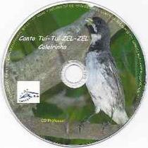 Cd Canto Melodia 3 Notas Colerinha - .cda P/ Aves Em Gaiola
