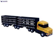 Caminhão Carreta Bitrem Boiadeiro Plastico/madeira