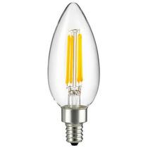 Sunlite 80635-su Antigo Filament Led 4w 2700k E12 Bulbo Cand