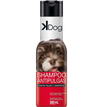 Shampoo Para Cachorro Anti Pulgas E Carrapatos K Dog - 500ml
