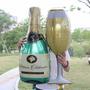Balão Garrafa Champagne+ Copo 93x48 Reveillon Ano Novo