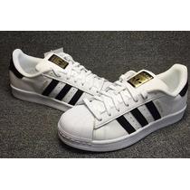 Tênis Adidas Superstar Fundation Original Frete Do 34 Ao 43