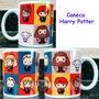 Caneca Harry Potter Personagens