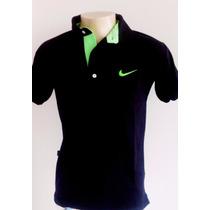 Camisa Camiseta Polo Nike Tecido Piquet Pronta Entrega