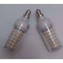 Lampada Led 64 Smd 5730 Quente E12 5w 110v 1 Unidade