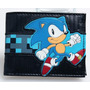 Carteira Sonic The Hedgehog Classic Sega Suika Games Animes