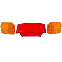 Lentes Traseira Completa (lanterna E Pisca) Honda Cbx 150
