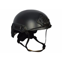 Capacete Tático Airsoft / Paintball Tb957-bt1 - Preto