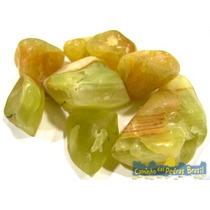 Ônix Verde Unid. 2cm Pedra Gema Natural Polida P/ Coleção