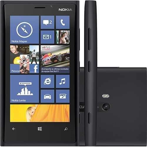 Nokia Lumia 920 Preto Cam 8.7mp 32gb Puremotion Windows 8.1