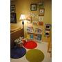 4 Prateleira Para Livros Infantil - Mdf Com Bordas De Pvc