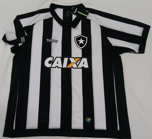 Camisa Botafogo Tamanho 5 G Oficial Topper 2017 2018 C  Nota 815af8bf5b3d0