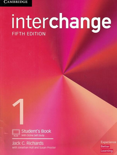 Interchange 1 Student´s Book With Online Self-study - 5th