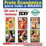 Kit Com 4 Revistas Sexy 2013 Ate 2018 Frete R$20
