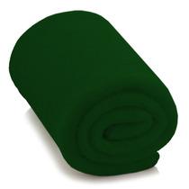 Cobertor Manta Solteiro Em Soft - Adulto - Verde - Lux Confo