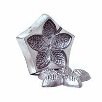 Kit 4 Frisadores Eva Em Alumínio Apostila Curso De Flores