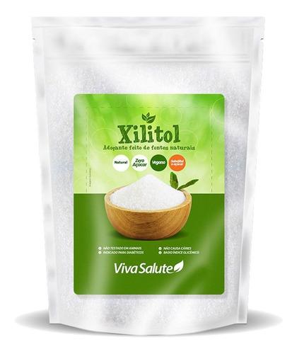 Xilitol Natural Dieta Low Carb Xylitol 500g - Frete Grátis*
