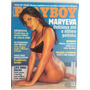 Revista Playboy Maryeva Deliciosa Até A Última Gotinha
