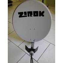 Antena Wireless Disco Externa Zirok Wll-60 2,4ghz - 23.5dbi.