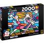 Quebra-cabeça 2000 Peças - Romero Britto - Love Blossoms