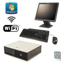 Computador Completo Core 2 Duo 2gb Wifi Garantia 1 Ano
