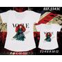 Camiseta Merida Princesa Valente Mãe E Filha T-shirt Com 2