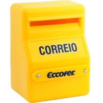 Caixa Plástica De Correio / Correspondência 190x155x260mm