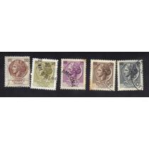 Selos Itália - República Italiana - Efígie