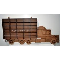 Caminhão - Prateleira - Carrinhos Hotwwehls - Hotwill - Mdf