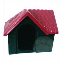 Casa Plástica Para Cães Bangalo Vermelho N°2 Pet Hobby