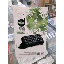 Xbox 360 Acessório Chatpad Marca Dazz - Lacrado E Original