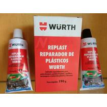 Reparador De Plastico Replast Painel Parachoque Wurth