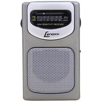 Rádio Portátil Am/fm Lenoxx - Compacto, A Pilha - Rp62
