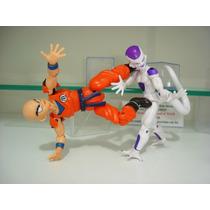 Freeza Kuririm Dragon Ball Z Kai Articulável Dbz 2 Bonecos